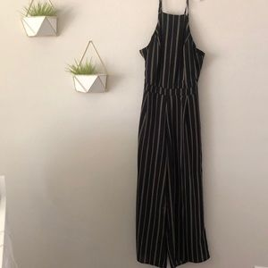High Necked Jumpsuit